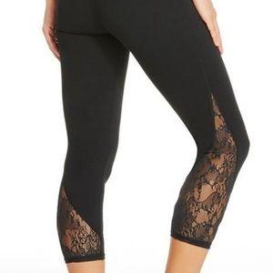 Fabletics Black Lace Leggings